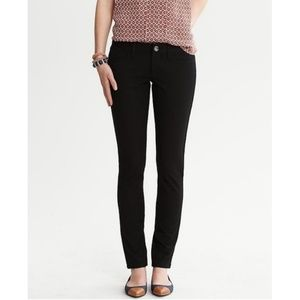 Banana Republic | Sloan Fit Black Skinny Pant 0